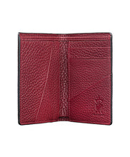 Load image into Gallery viewer, Mens Leather Wallet Mithanni Maceo Claret Red