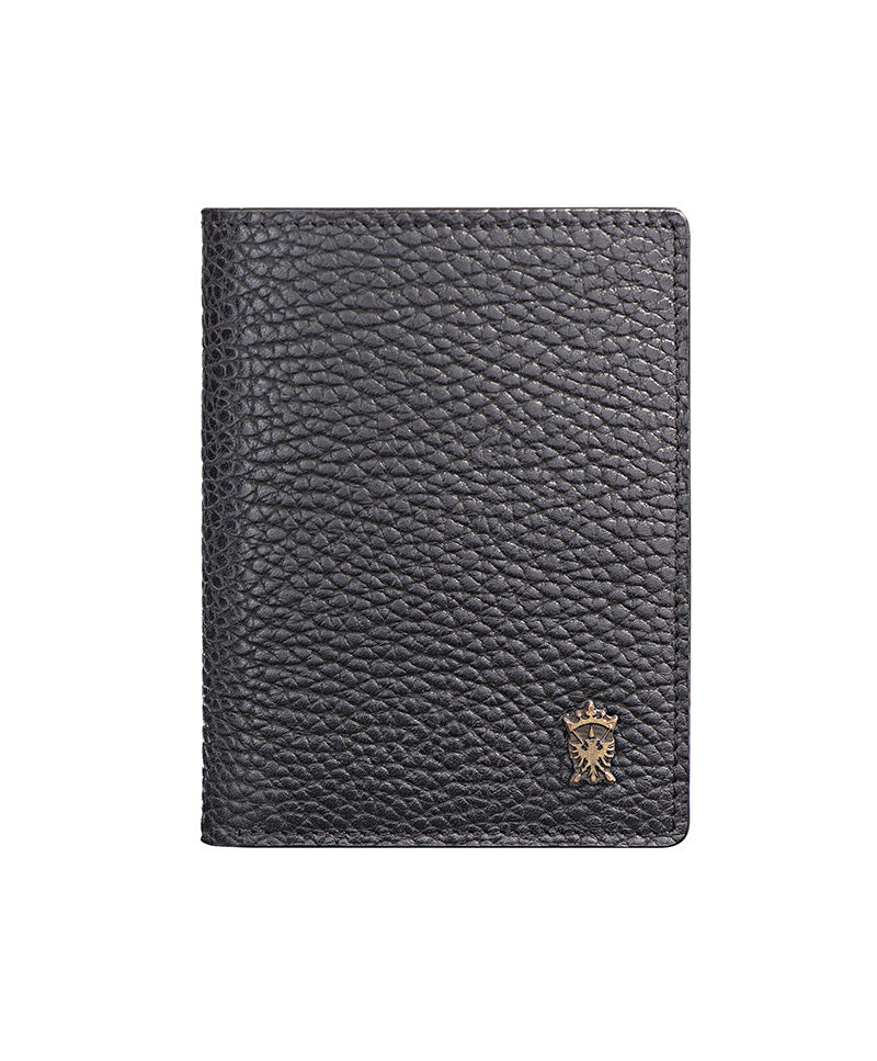 Mens Leather Wallet Mithanni Maceo Black