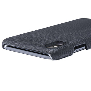 iPhone x Leather Case Mithanni Maceo Black
