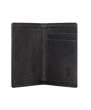 Load image into Gallery viewer, Mens Leather Wallet Mithanni Maceo Black