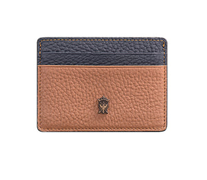 Mens Leather Card Holder Mithanni Maceo Brown