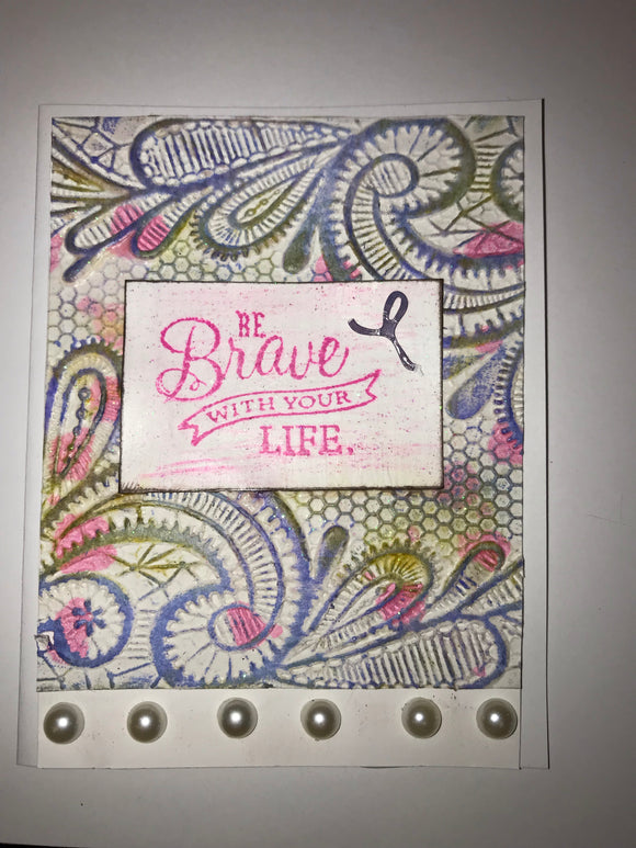 Be brave pearls