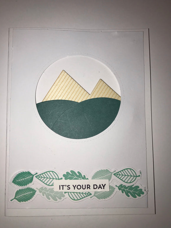It's your day mountains