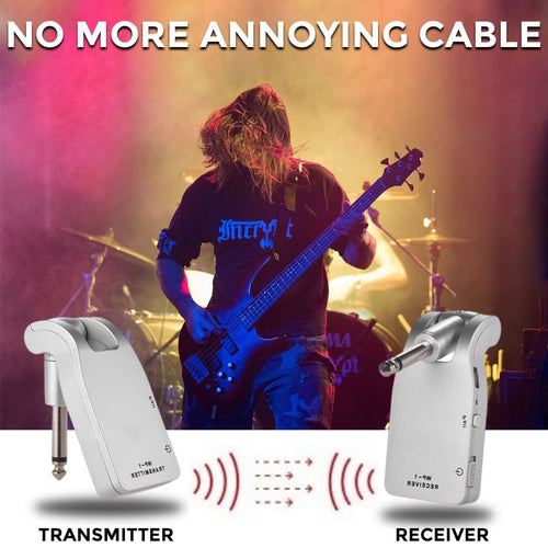 Airbridge™️ - Wireless Power Amplifier | The Flex Free Buddy for your Gig