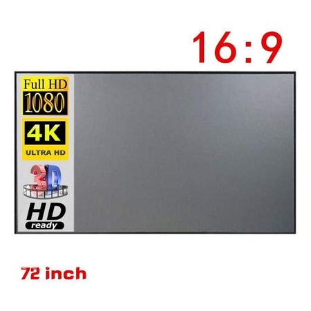 60inch Screen for Original Portable HD Projector