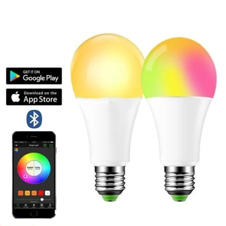 FULLPOWERHOME - SmartBulb™️ - Colorful Bluetooth LED Bulb Lamp