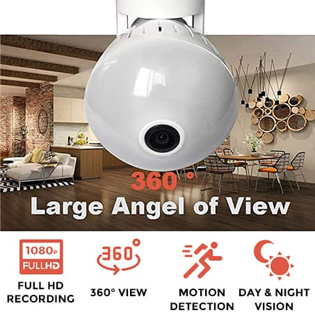 360Bulb™️ - Light Bulb Wifi Security Camera