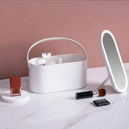 SURPRISEYOU - Portable Make-Up Case with LED Mirror