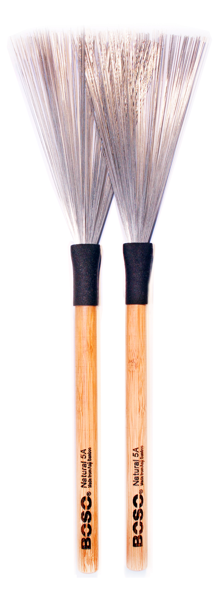 Boso Natural Fixed Handle Brushes