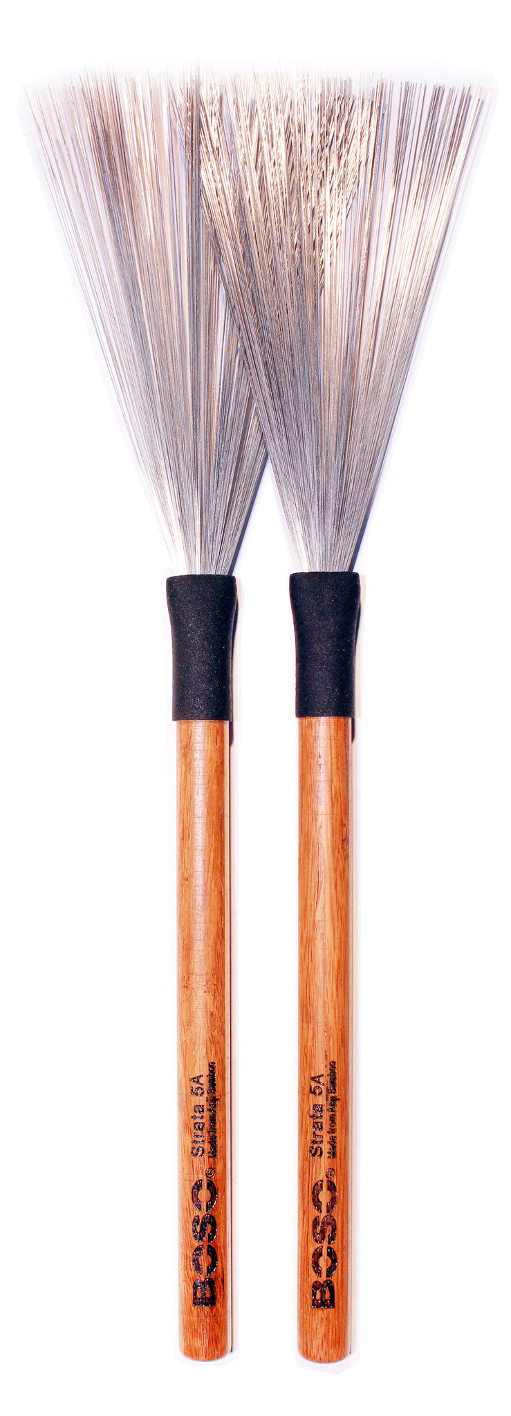 Boso Strata Fixed Handle Brushes
