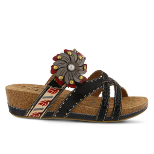 DEONNA SLIP-ON SANDALS