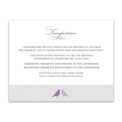 Amethyst Place Cards