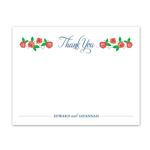 Camilla Thank You Notecard