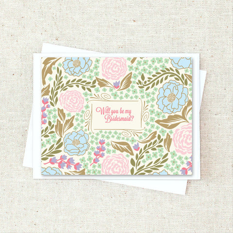 Bridesmaid Greeting Card Set