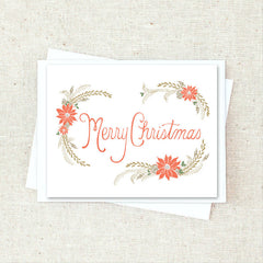 Classic Christmas Greeting Card Set