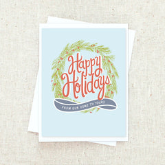 From Our Home To Yours Greeting Card Set
