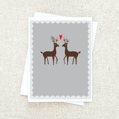 Reindeer Love Greeting Card Set