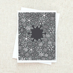 Snowflake Greeting Card Set