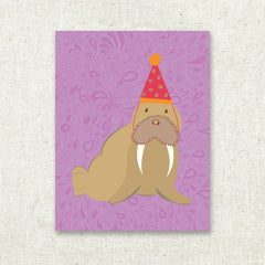 Birthday Walrus