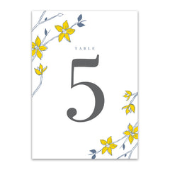 Felicity Table Numbers