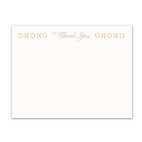 Kori Feathers Thank You Notecard