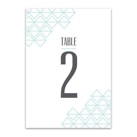 Quincy Table Numbers