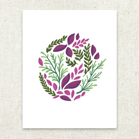 Botanical Art Print