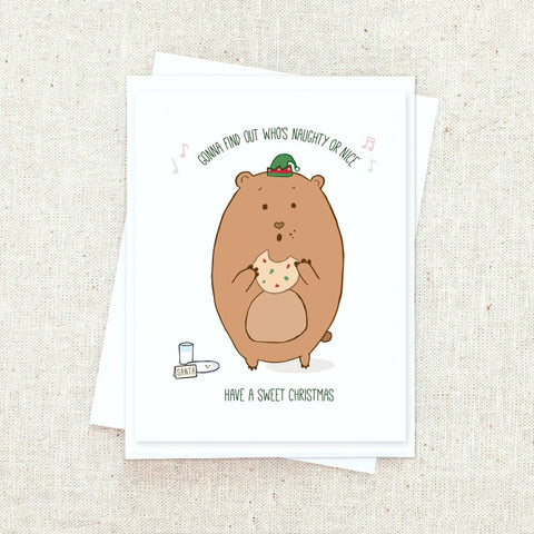 Holiday Bear Greeting Card Set