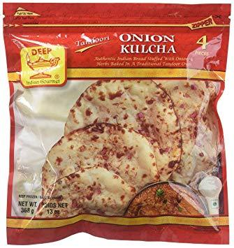 Deep Onion Kulcha - WeGotMeat- Columbus Ohio Halal Meat Delivery