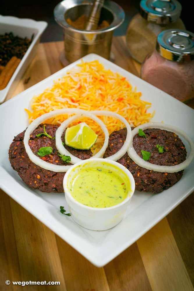 Marinated Chapli Kabab (Pack of 4) - WeGotMeat- Columbus Ohio Halal Meat Delivery