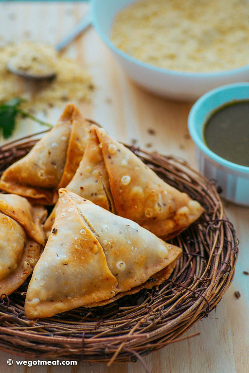 Halal Veggie Punjabi Samosa (Pack of 4) - WeGotMeat- Columbus Ohio Halal Meat Delivery