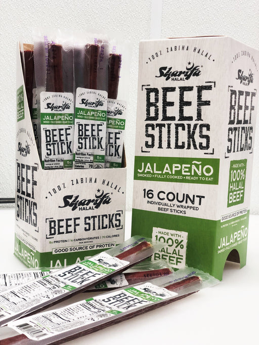 Sharifa Jalapeno Sticks - WeGotMeat- Columbus Ohio Halal Meat Delivery