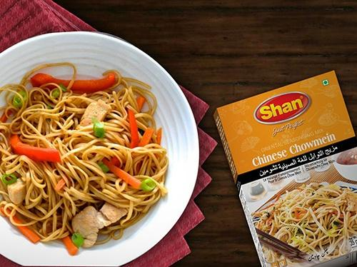 Shan Chowmein Recipe Mix - WeGotMeat- Columbus Ohio Halal Meat Delivery