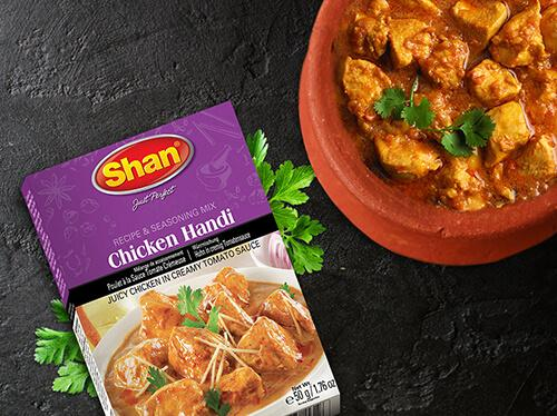 Shan Chicken Handi Recipe Mix - WeGotMeat- Columbus Ohio Halal Meat Delivery