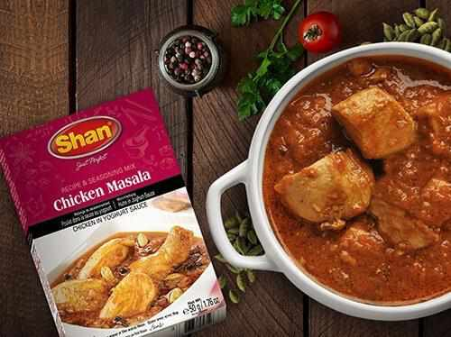 Shan Chicken Masala Recipe Mix - WeGotMeat- Columbus Ohio Halal Meat Delivery