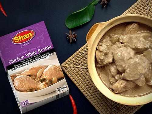 Shan Chicken White Korma Recipe Mix - WeGotMeat- Columbus Ohio Halal Meat Delivery