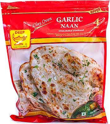 Deep Garlic Naan - WeGotMeat- Columbus Ohio Halal Meat Delivery