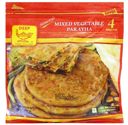 Deep Mixed Vegetable Paratha - WeGotMeat- Columbus Ohio Halal Meat Delivery