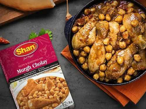 Shan Murgh Cholay Recipe Mix - WeGotMeat- Columbus Ohio Halal Meat Delivery