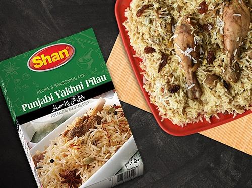 Shan Punjabi Yakhni Pulao Recipe Mix - WeGotMeat- Columbus Ohio Halal Meat Delivery
