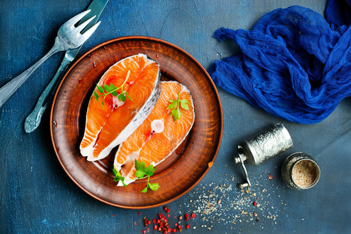 Fresh Salmon Steaks - WeGotMeat- Columbus Ohio Halal Meat Delivery