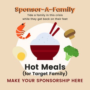 [Sponsor-A-Family] Hot Meals (Target Family)