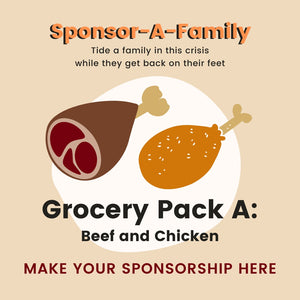 [Sponsor-A-Family] Grocery Pack A: Beef and Chicken