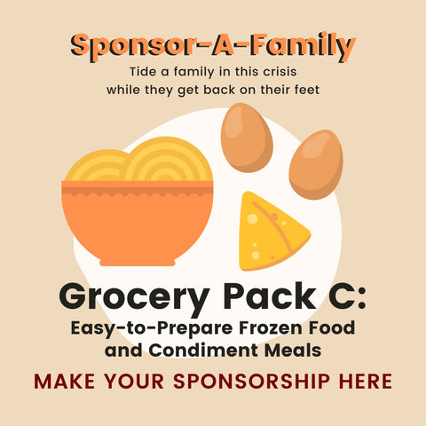 [Sponsor-A-Family] Grocery Pack C: Frozen Food