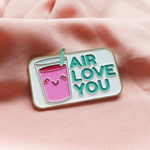 Air Love You - Food Pun Hijab Brooch