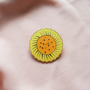 Pineapple Tart Brooch