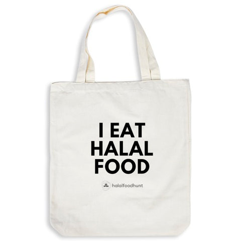 Tote Bag - I Eat Halal Food