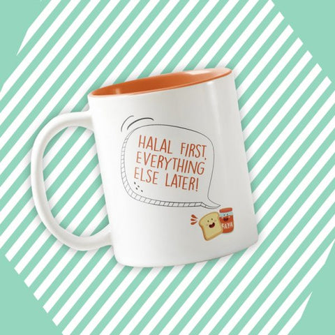 Statement Mug - Orange