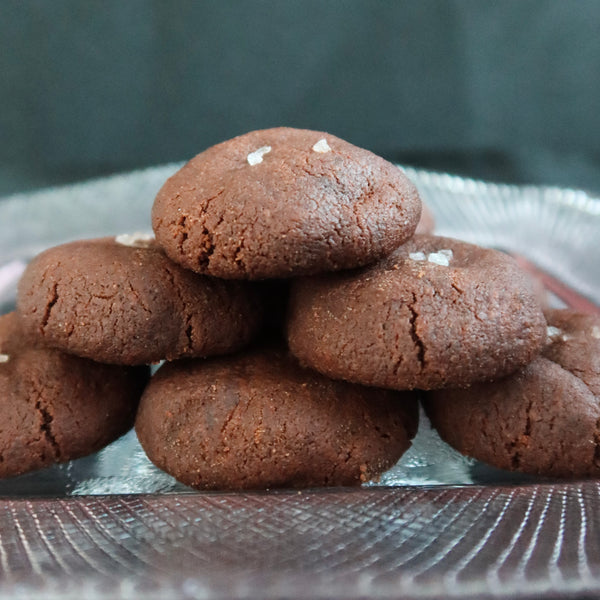 [KUEH-Rated 2021 Pre-Order] Sea Salt Dark Chocolate Cookies #ravingreviews