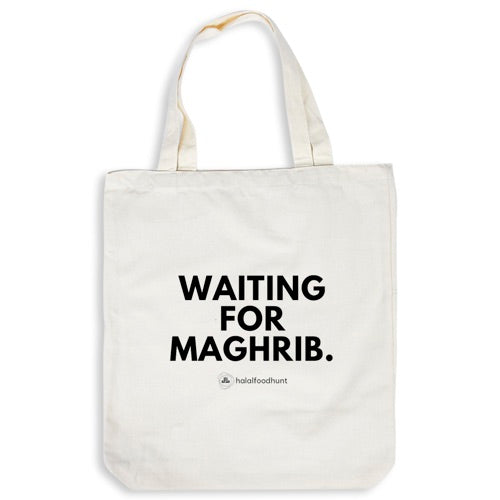 Tote Bag - Waiting For Maghrib